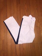 NWT! Lacoste White Blanc Ankle Pants Women Size 6 $185