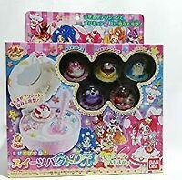 Bandai Kirakira PreCure a la Mode Mixed Makeover Transformation Sweets Pact USED
