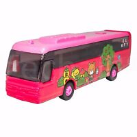 f8ea39d81 Sanrio Hello Kitty Die-Cast 7 inch Travel Bus Pink Model Genuine license  product