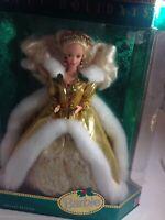 Mattel Happy Holidays 1994 Barbie Doll - NIB NRFB
