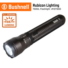 BUSHNELL RUBICON T600L LED FLASHLIGHT 687 LUMENS W/SIX FREE DURACELL BATTERIES!!