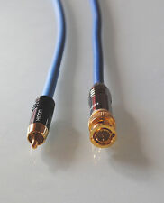 10,0m Sommercable VECTOR / Digital- Adapterkabel Cinch-BNC 75 Ohm / TOP-Preis!