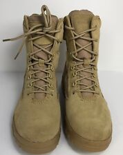 """Workabouts Men's 7"""" Side Zip Desert Suede Lace-Up Boot Men Size 8 E2"""
