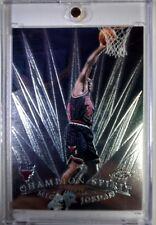 98-99 Michael Jordan Topps Chrome CHAMPION SPIRIT Insert #1 - Chicago Bulls
