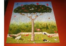"Liberty Wooden Puzzle ""A Good Tree Can Lodge 10,000 Birds"" 485 Pieces  COMPLETE"