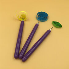 3pcs Paper DIY Set Quilling Paper Tools Needle Pins Slotted Pen Tool Kit