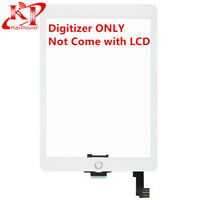 White Touch Screen Digitizer Replacement for iPad Air 2 A1566 A1567 Home Button