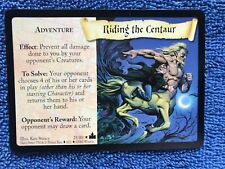 Harry Potter Tcg Cards - Rare - Adventures at Hogwarts 25/80 Riding the Centaur