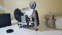 Super 8 Film Strip Movie Projector & 2 Mystery Films: Prinz Mirage IQ Deluxe