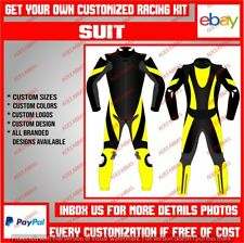 Custom Made Suit Motorbike Racing Motorcycle Riding Leather Protective Suit CE