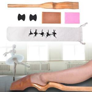 Hölzerner Balletttanz Foot Stretch Stretcher Arch Enhancer Ballettzubehör 30-45