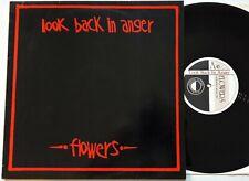 """Look Back In Anger - Flowers 12"""" Single 1984 1st UK Press Criminal Damage Vinyl"""