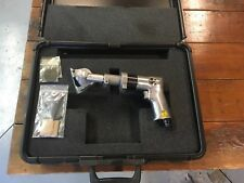 Thomas C Wilson portable pneumatic circular saw with case and extra blades..Nice