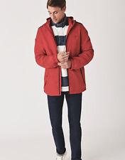 New Crew Clothing Mens Swindale Jacket in Crimson