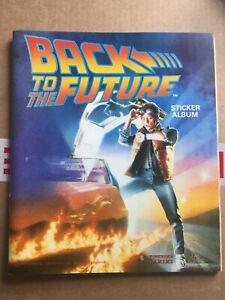 Back to the Future - Complete Panini sticker album