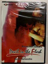 """Uncommon Sellado ITALIAN ROMANCE DVD """" devil in the Flesh """" con / maruchka"""
