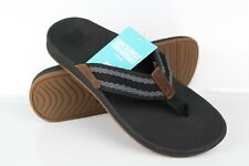 Reef Men's Ortho Coast Woven Flip Flop Sandals Black CI2765