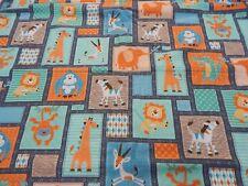 Jungle Buddies Blanket  -Fleece Backed - Large Size 100cm x 120cm Gorgeous!!!