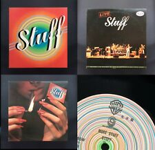 STUFF 3xLP BUNDLE - Steve Gadd, Richard Tee, JAPAN Promo Vinyls Ex/Vg