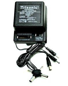 Universal AC/DC Power Adapter Output 7 Way 3V 4.5V 6V 7.5V 9V 12V 500mA