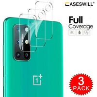 For OnePlus 8T / 8T+ Plus 5G Clear Tempered Glass Camera Lens Screen Protector