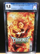 MARVEL PHOENIX RESURRECTION #1 CGC 9.8! RARE ARTGERM VARIANT! SOLD OUT