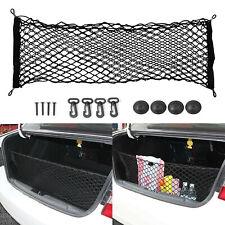 Auto Rear Trunk 90x40 Extensible 110x55 Cargo Net Mesh Storage Organizer Pocket