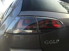 SCHWARZE RÜCKLEUCHTEN VW GOLF 7 VII 12-15 SATZ RÜCKLICHTER KLARGLAS HECKLEUCHTE