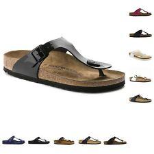 Womens Birkenstock Gizeh Eva Classic Footbed Toe Post Sandals Sizes 3 - 8 UK 6 / EU 39 Black