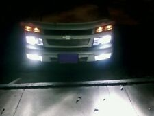 04 & Up GMC Canyon Head & Fog Light High Beam Kit Turns Lows & Fogs On w Highs!!