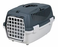 Trixie Pet Carrier For Cats, Small Dogs Or Rabbits Light Grey/Grey TX39811