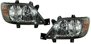 NEW L+R PAIR Headlight FOR 2003 2004 2005 2006 Dodge Sprinter 2500 3500