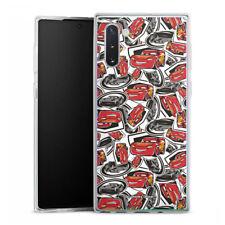 Samsung Galaxy Note 10 Silicona Funda Case Handy-Cars 3 retro pattern