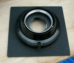 Sinar F & P earlier DB  size 3  mount auto & manual set lens board mount