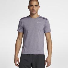 Nike Dri-FIT Rise 365 Men's Short Sleeve Running Top XL Purple Caual Gym New