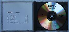Tricky Juxtapose Rare Orig Ger 1999 Advance CD-Acetate Unique Cover