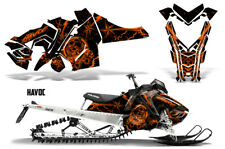 Polaris Pro RMK Rush Sled Decal Wrap Snowmobile Graphics Kit 2011-2014 HAVOC ORG