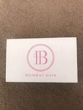 Bombay Hair Jet Black Hair Extensions