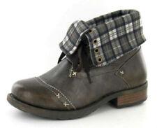 Chaussures marrons en synthétique à lacets pour garçon de 2 à 16 ans