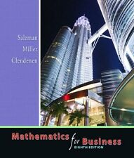 Mathematics for Business (8th Edition) by Stanley A. Salzman, Charles D. Miller,