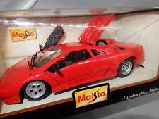 MAISTO 1990 Lamborghini DIABLO Diecast car 1:24 Special Edition NIB new 31903