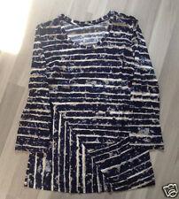 SHIRT von BETTY BARCLAY Blau Weiß Beige Damenshirt Shirt Gr. 38