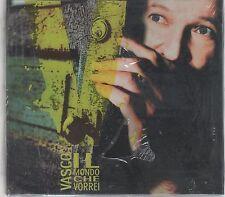 VASCO ROSSI IL MONDO CHE VORREI  CD + BOOKLET SIGILLATO!!!