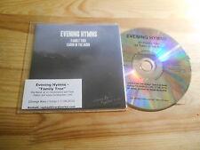 CD Rock Evening Hymns - Family Tree / Cabin (11 Song) Promo STRANGE WAYS