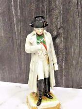 """Scheibe-Alsbach Dresden Porcelain Napoleon Figurine 9"""""""