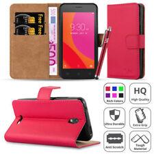 Fundas y carcasas color principal rojo de piel sintética para teléfonos móviles y PDAs Lenovo