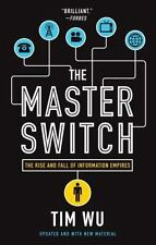 The Master Switch: The Rise and Fall of Information Empires by Tim Wu (English)
