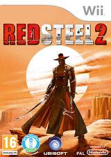 RED STEEL 2 CON Wii MOTION PLUS INCLUSO GIOCO NUOVO Wii