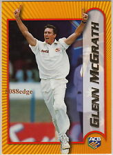 2000 TOPPS ACB CRICKET #S13: GLENN McGRATH - MOST TEST WICKETS BY FAST BOWLER