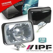 Genuine (Pair) IPF 800 4x4 Off Road Lights Combo Driving/Spot Beam Complete Set